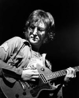 "John Lennon---died 1980---A Rock & Roll Hall of Fame Inductee and a Songwriters Hall of Fame Inductee. As one of the original ""Beatles"" he changed music forever. He wrote some of the classic rock songs both as a Beatle and during his solo career."
