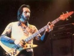 "John Entwistle---died 2002--- A Rock & Roll Hall of Fame Inductee. Bass player for ""The Who"". Famous for his unique riffs."