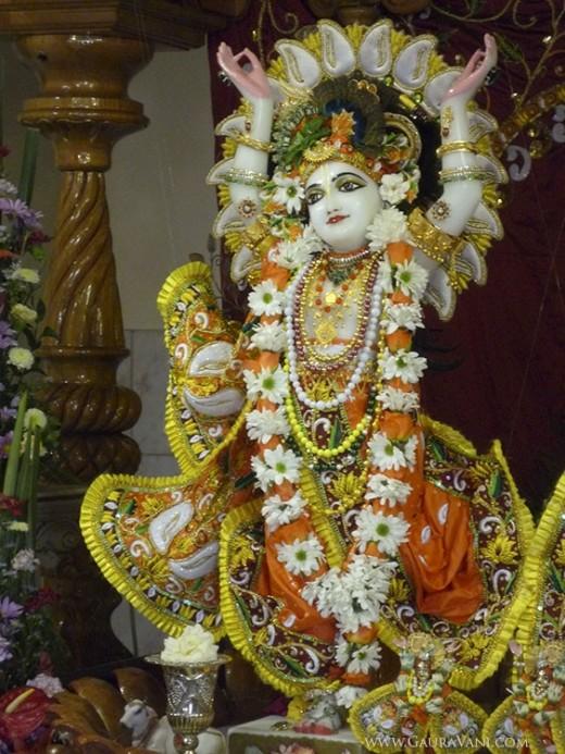 Sri Nityananda at ISKCON Lenasia