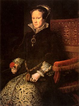 """Mary I of England, """"Bloody Mary"""""""