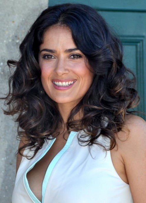 Salma Hayek at the Deauville Film Festival on September 8, 2012