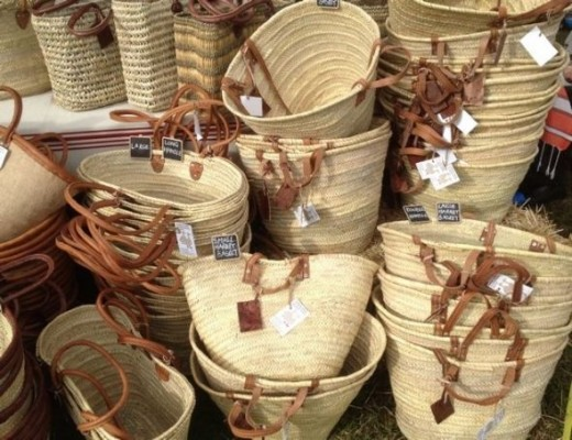Baskets of all shapes and sizes