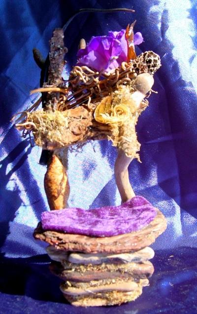 Purple Fairy Queen Throne