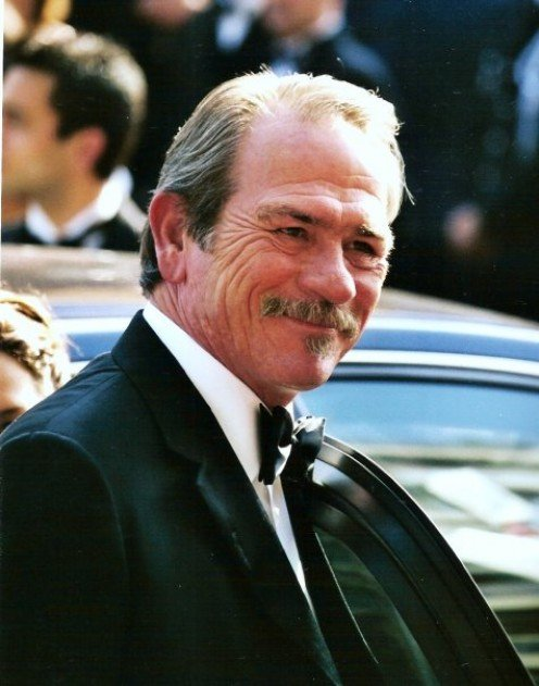 Jones at the 2005 Cannes Film Festival