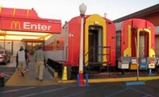 Barstow Station McDonalds