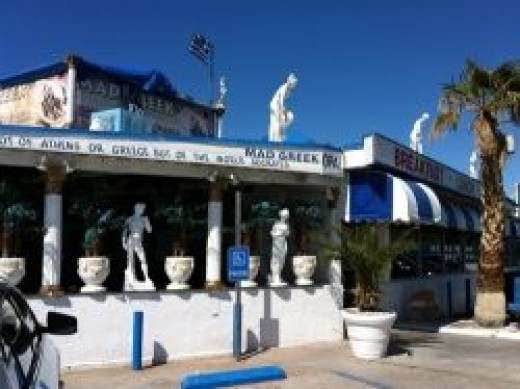 The Mad Greek in Baker, CA