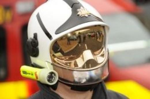 Gallet / F1 Fire Helmet