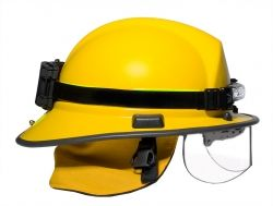 FoxFury Command Series headlamp on structural helmet