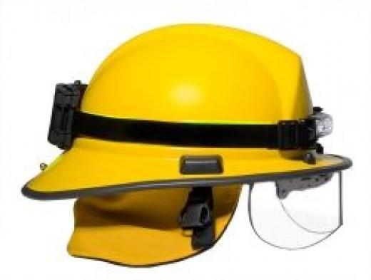 FoxFury Command Series headlamp on structural helmet