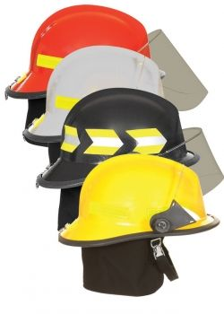 Fire helmets are availbale in a cariety of colors