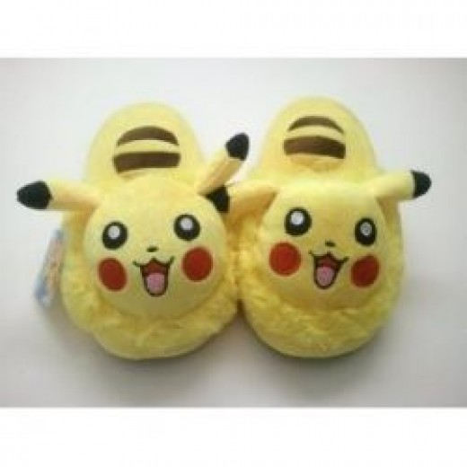 Pikachu slippers for kids