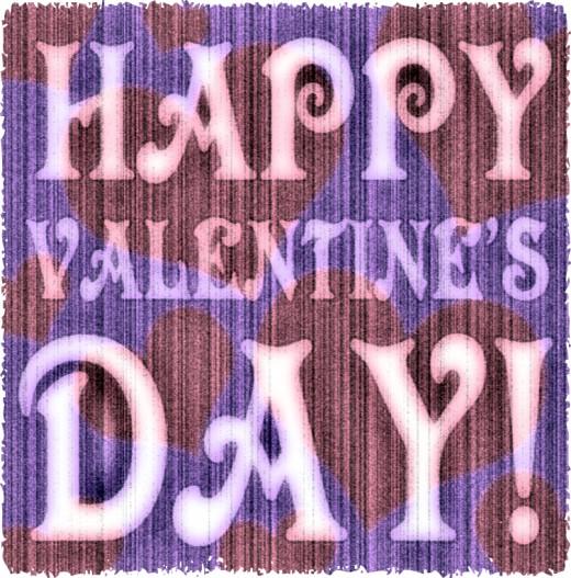 Happy Valentine's Day Vintage Valentine's Day Greeting