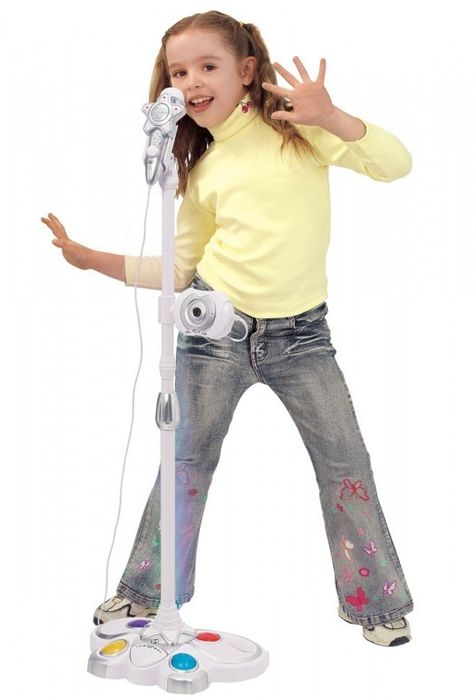 Discovery Channel karaoke machine for kids