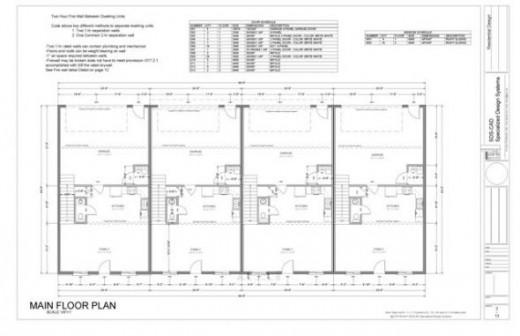 How to make 100 000 building a 4 plex apartment for 4 plex apartment floor plans