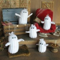 Halloween Ghosties free pattern