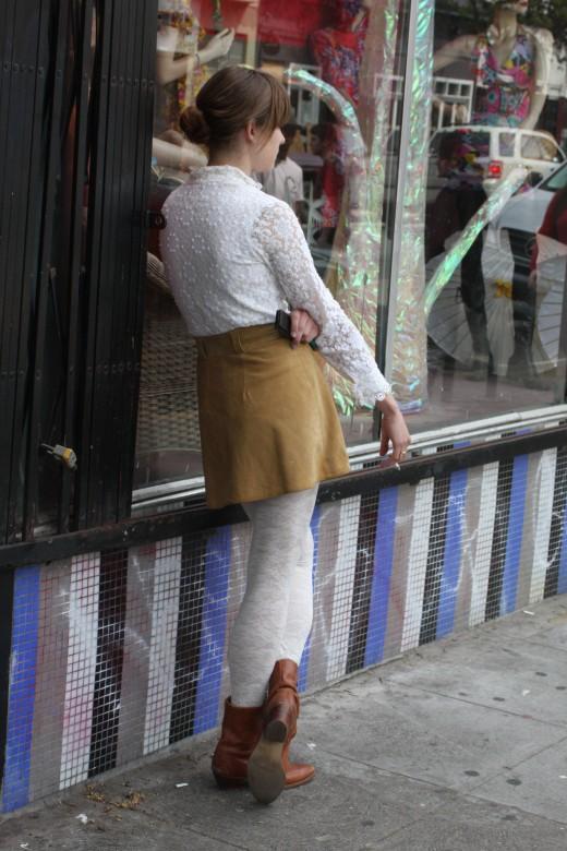 Cigarette Break, Haight Street deedsphoto
