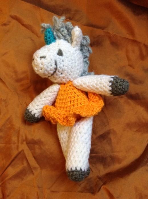 Crochet Amigurumi Unicorn Pattern