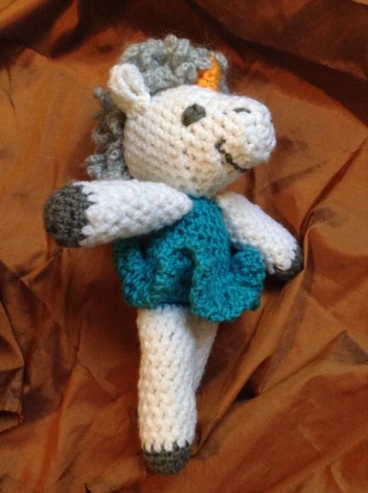 Crochet Ballerina Unicorn Pattern
