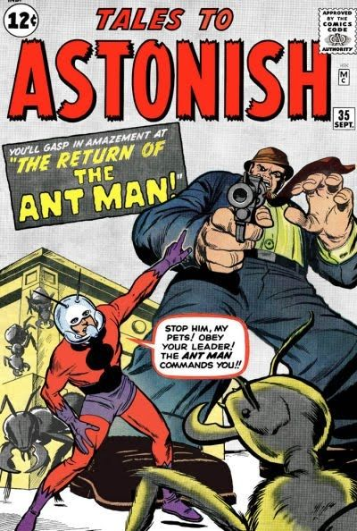 Tales To Astonish #27 First Appearance of Henry Pym (a.k.a. Ant-Man) Marvel Comics