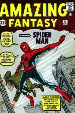 Amazing Fantasy #15 1st appearance of Spider Man