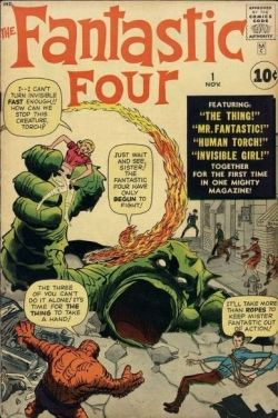 Fantastic Four #1 1961 Series Marvel Comics