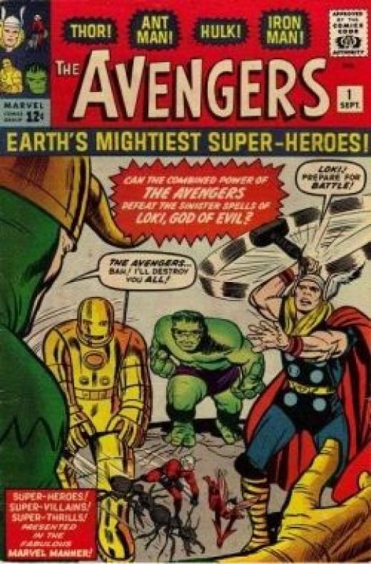 Avengers # 1 Vol 1