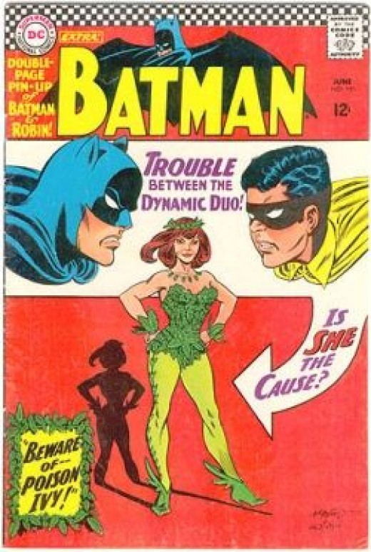 1st Poison Ivy appearance in Batman