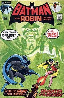 Batman #232 First appearance of Rha's al Ghul