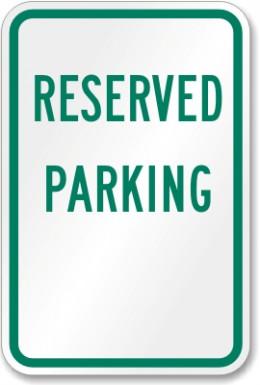 Get Reserved Parking
