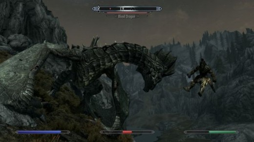 Yes... Dragons get finishing moves too!