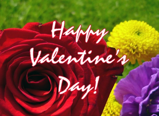 Floral Valentine's Day Clip Art