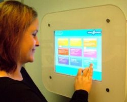 Antimicrobial Touchscreen Coatings for Kiosks
