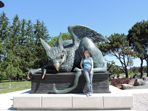 University of Guelph gryphon 50th anniversary
