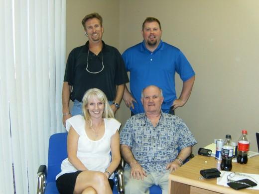 Jackee Benson, Jeremy Streeter, Brent Tyler, and Scott Carson