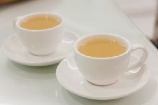 Two Cups of Tea by Jomphong