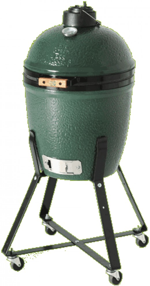 Small Big Green Egg Barbeque Grill