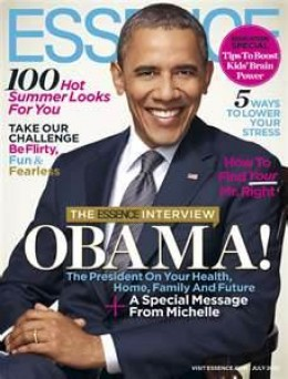President Obama on the Cover of Essence