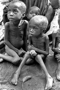 Biafran children