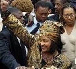 Winnie Mandela - Amandla! Victory!