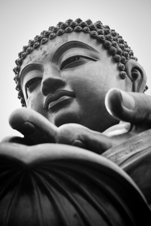 Face of a Buddha