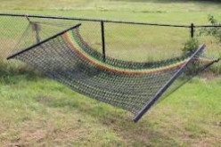 Paracord hammock or death!