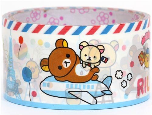 kawaii-cute-big-Rilakkuma-bear-Deco-Tape-San-X
