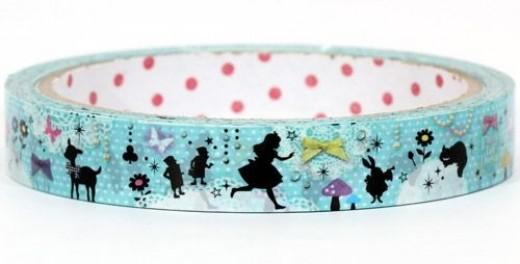 blue-Alice-in-Wonderland-Deco-Tape-fairy-tale-Japan