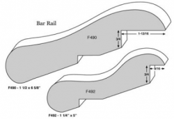 bar rail profiles