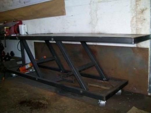 home built table lift
