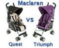 Maclaren Quest vs Triumph