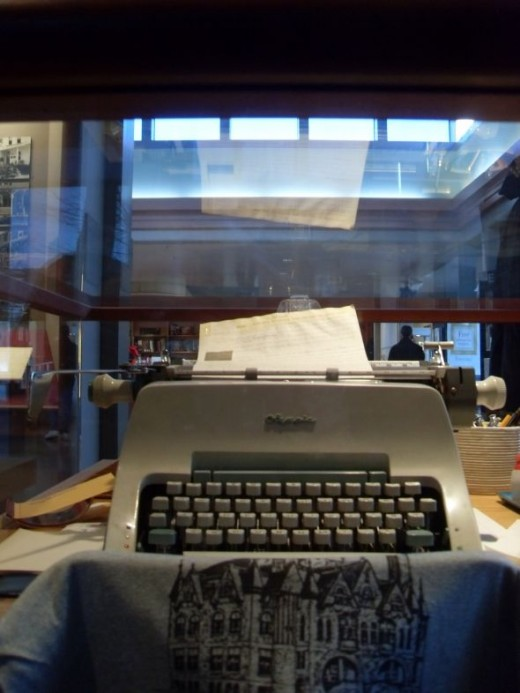 Michener's Typewriter
