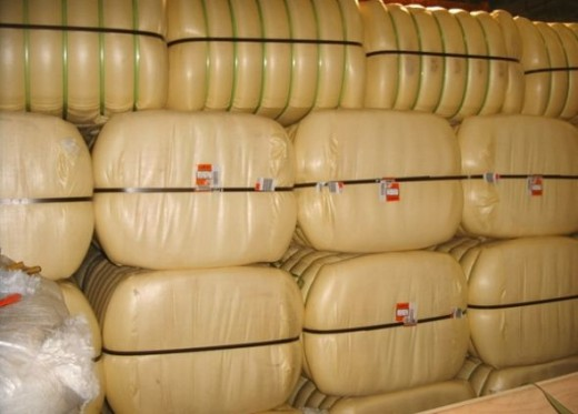 Bales of Polyester Fiber