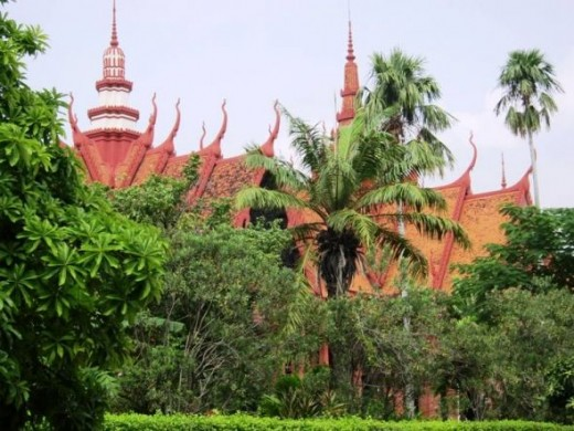 The National Art Museum in Phnom Penh