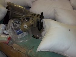 Pillow Form Sewing